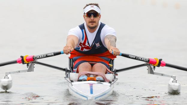 World Para-rowing Championships: Pritchard's journey from triathlons and cycling to targeting Tokyo