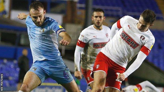 Coventry City v Rotherham United