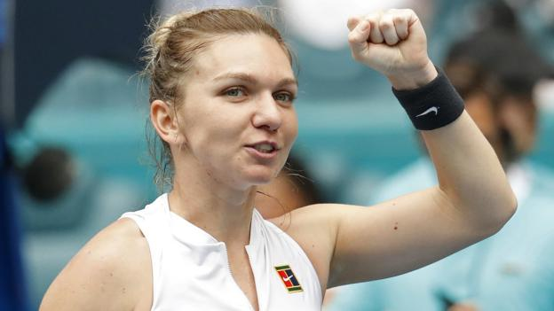 Miami Open: Simona Halep and Petra Kvitova reach quarter-finals thumbnail