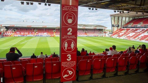 Les fans d'Aberdeen