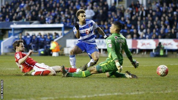 Neil Etheridge suffered his knee injury in the FA Cup fourth round defeat at Reading
