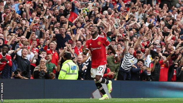 Fred, Manchester United, Leeds United, gol, Old Trafford