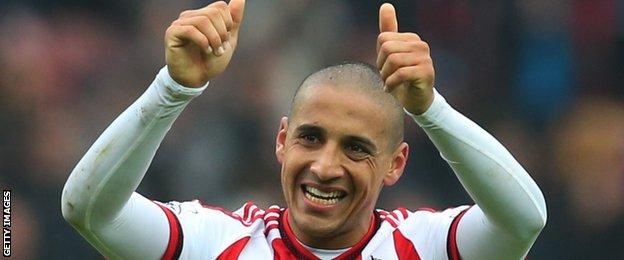 Sunderland midfielder Wahbi Khazri