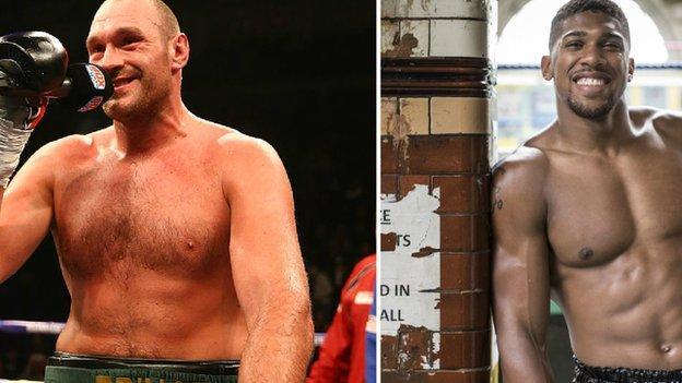 Tyson Fury & Anthony Joshua