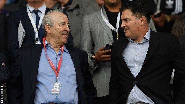 Steve Kaplan and Jason Levien took control of Swansea City in July 2016