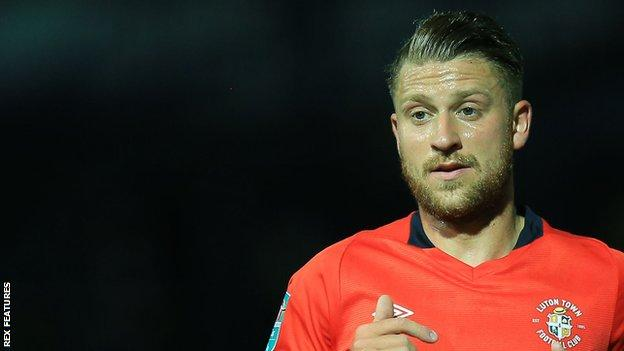 George Moncur made 59 appearances during his time with Luton Town prior to his release by the club in May
