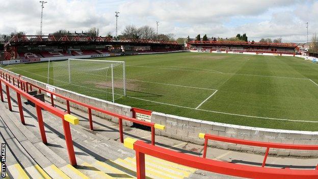 Crown Ground Accrington Stanley
