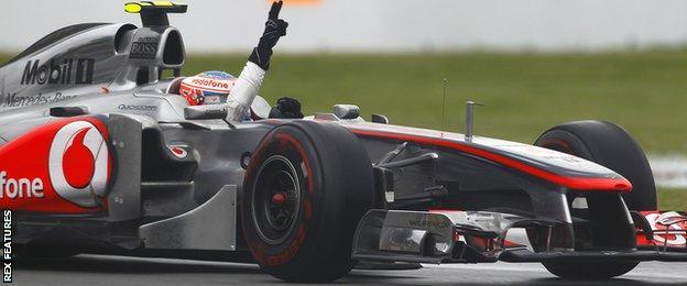 Jenson Button, Canada 2011