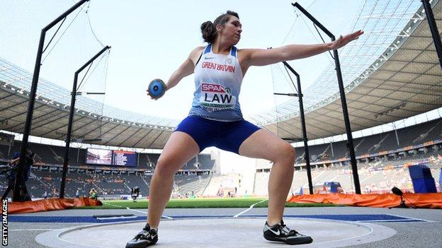 British champion Kirsty Law aims to make her Olympics debut at Tokyo 2021