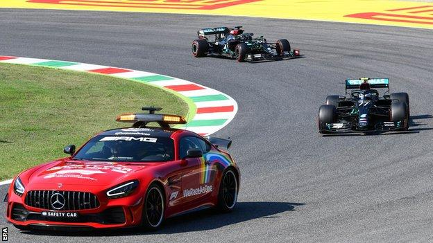 Tuscan Grand Prix Lewis Hamilton Leads Criticism Of Restart Approach After Huge Crash Bbc Sport