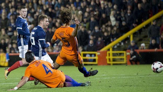 Scotland winger Ryan Fraser