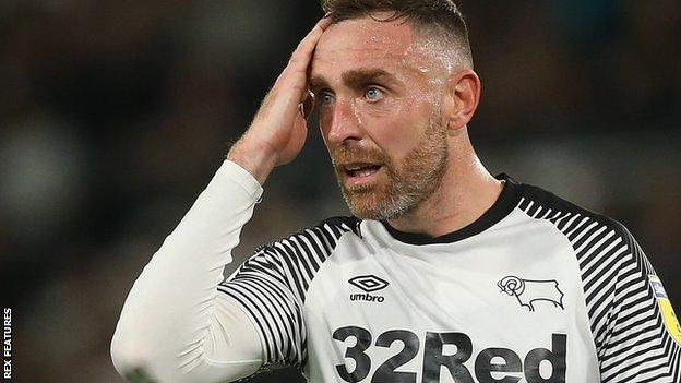 Richard Keogh made 356 appearances for Derby County after joining from Coventry City in 2012