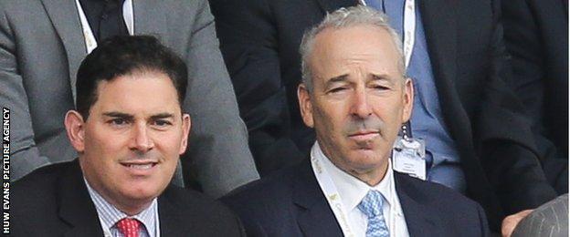 Jason Levien (left) with Steve Kaplan