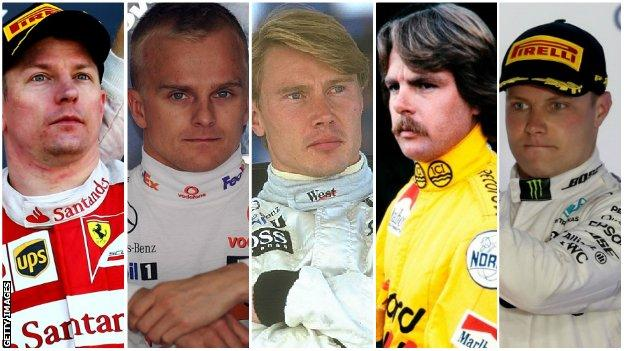 Formula 1 How Did Tiny Finland Become An F1 Giant Bbc Sport