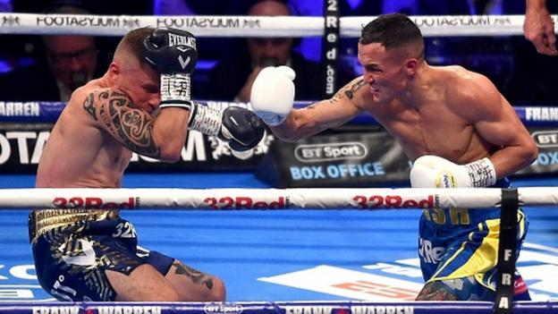 boxing schedule and results 2018 bbc sport