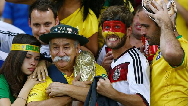 World Cup Rewind - watch Germany 7-1 Brazil from 2014 World Cup - bbc