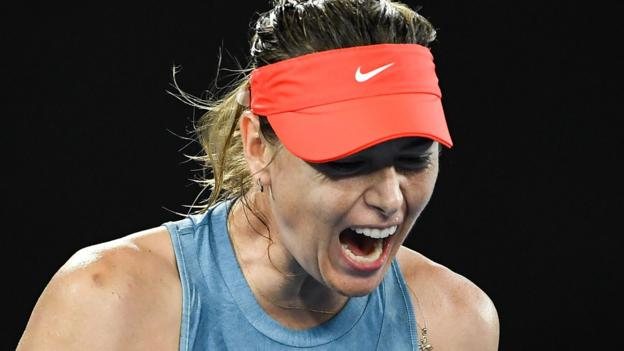Australian Open 2019: Maria Sharapova beats defending champion Caroline Wozniacki thumbnail