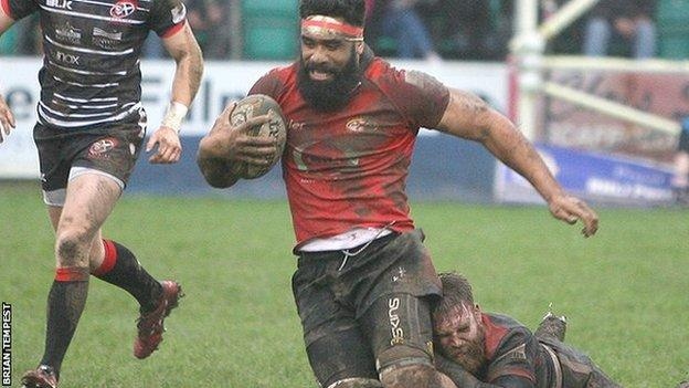 Jersey against Cornish Pirates