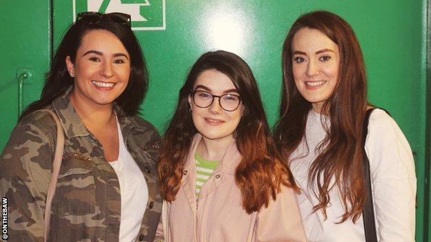 Orlaith Duffy, Erin Slaven and Mikaela McKinley