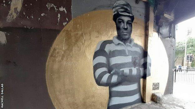Peinture murale Watson à Galsgow