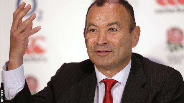 Eddie Jones of England