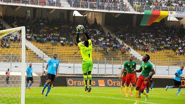 Cameroon host DR Congo in Yaounde