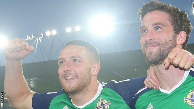 Conor Washington and Will Grigg
