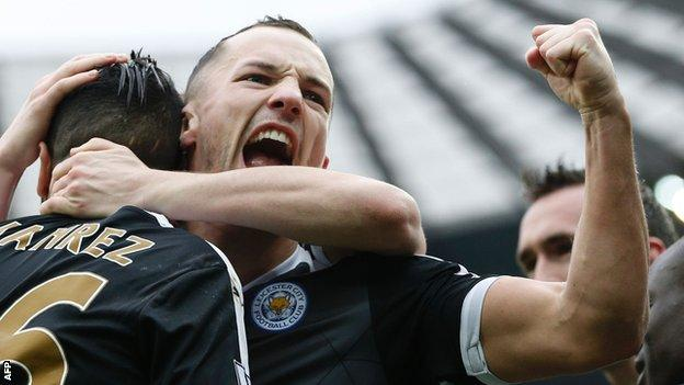 Danny Drinkwater has been a key figure in Leicester's rise