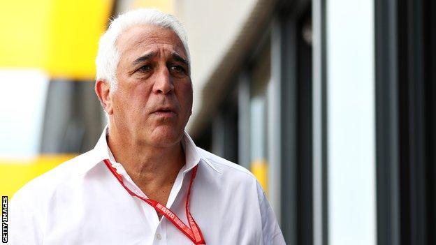 Aston Martin Formula 1 team owner Lawrence Stroll