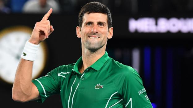 Novak Djokovic beats Roger Federer to reach Australian Open final thumbnail