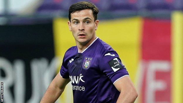 Cullen left West Ham to join Anderlecht in October
