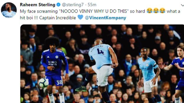 Raheem Sterling tweet