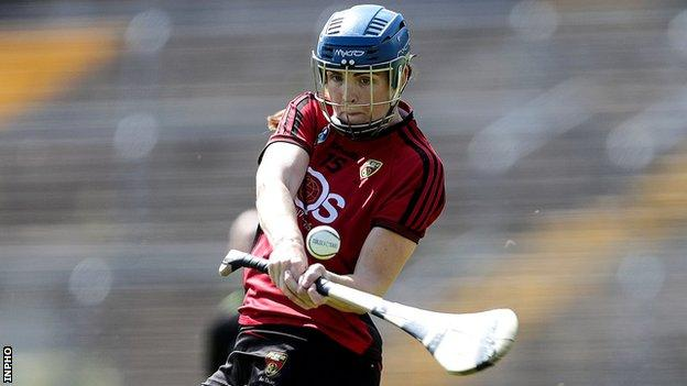 Fionnuala Carr's father Ross helped Down win the 1991 and 1994 All-Ireland Football titles