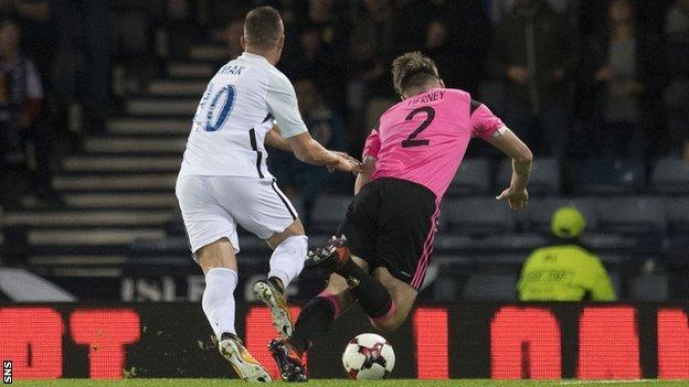 Slovakia midfielder Robert Mak