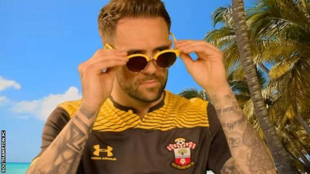 Danny Ings makes a cameo in the Saynts Festival mockumentary