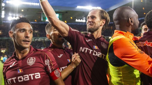 Celtic 3-4 CFR Cluj: Scots out of Champions League thumbnail