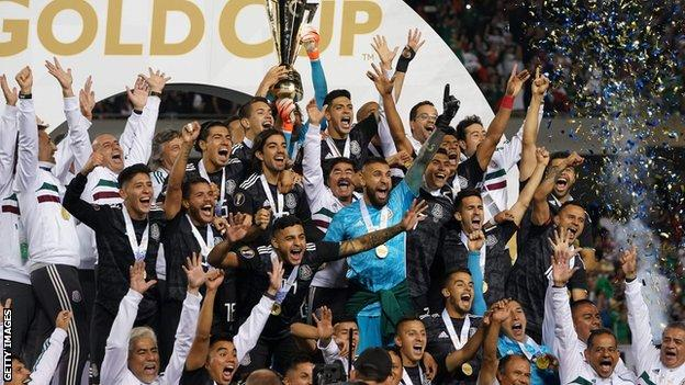 Mexico won the Gold Cup for the first time since 2015