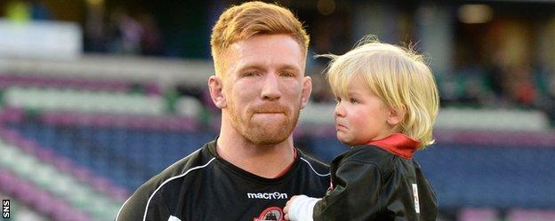 Roddy Grant calls an emotional end to his career with Edinburgh
