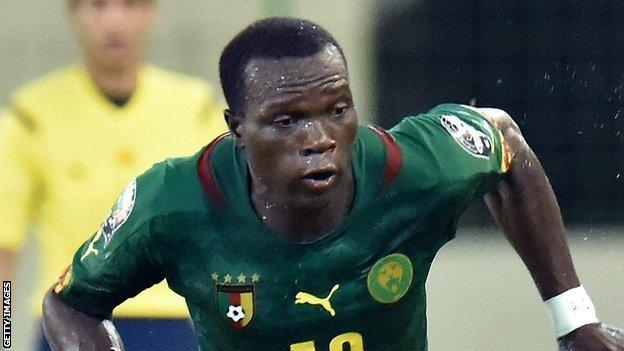 Cameroon striker Vincent Aboubakar