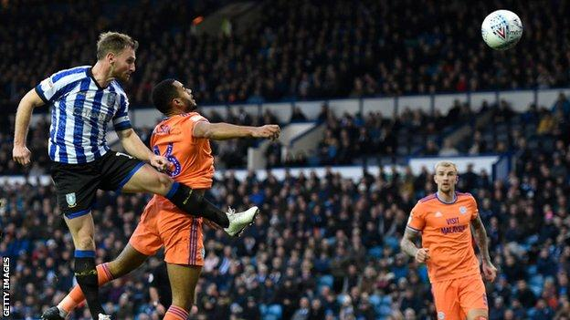Sam Lees scores for Sheffield Wednesday