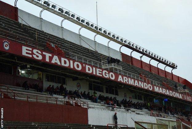 Estadio Diego Armando Maradona general view