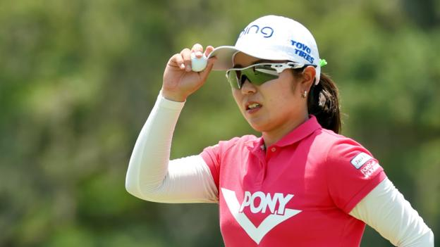 US Women's Open: Mamiko Higa leads as Bronte Law shoots one over thumbnail