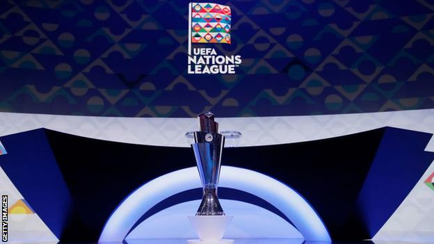 Northern Ireland Nations League trophy