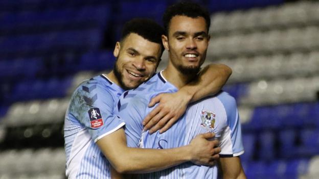 Coventry City 3-0 Bristol Rovers: Sky Blues set up FA Cup fourth-round tie with Birmingham