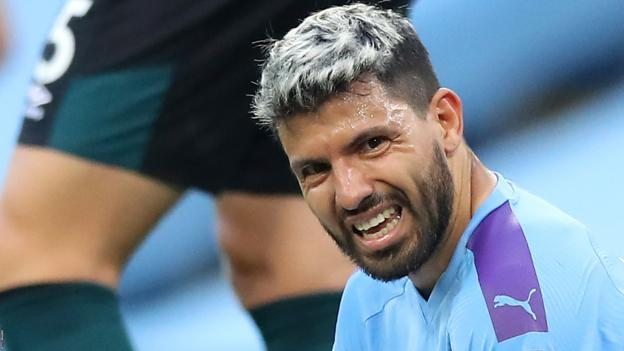 Man City: Sergio Aguero says surgery on injured knee 'went well' thumbnail