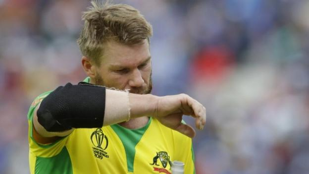 BBC Sport : Cricket World Cup: David Warner will be back to