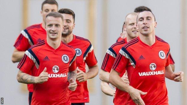 This is Scotland's seventh game out of 10 in Group D