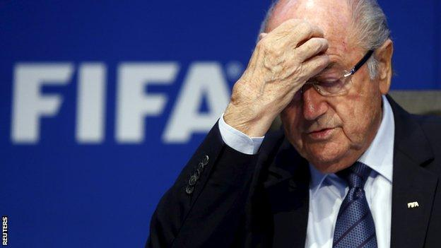 Sepp Blatter has been president of Fifa since 1998
