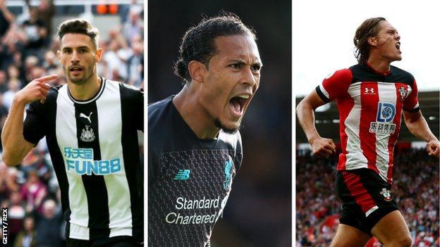 Fabian Schar (Newcastle), Virgil van Dijk (Liverpool), Jannik Vestergaard (Southampton)