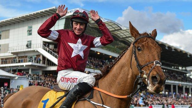 Davy Russell led Balko Des Flos to success last year